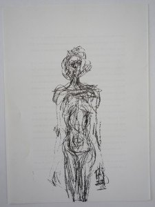 Lithographie - Nude - Edition Maeght DLM 127 - format 38x27.8