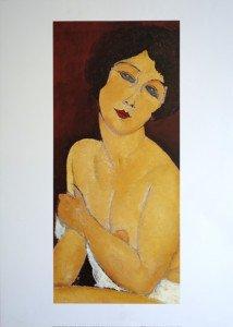 Offset - Amadeo Modigiani - La Belle Romaine - Editions NouvellesImages 2000 tirgae inconnu - Format 60x27 sur 70x50