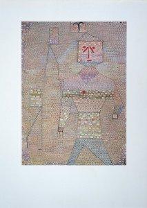 Offset Lithograph sur Arches - Le Général en chef des barbares - format 57x42 sur 83x59.5