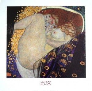 Print 2004  Klimt - Danaé - 47x51 sur 60x60