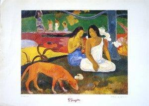 Print - Gauguin Arearea - Foramt 50x70