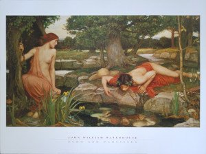 print - Echo and Narcisse - Format 60x80