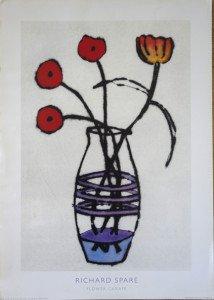 Print - Flowers carafe - format 70x50