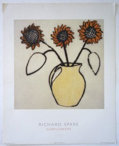 Print - Sunflowers - Format 50x40