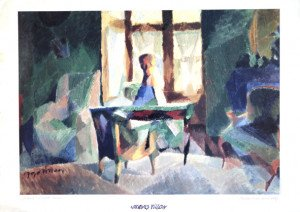 Print -  Villon  La baie du petit salon - format 50x70