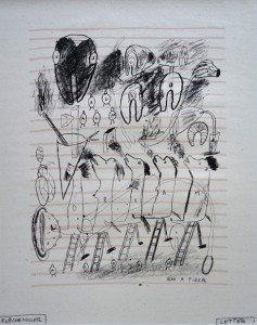 Sérigraphie - Letter I - Bon à tirer