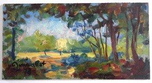sur bois (sous bois 1978) format 18.6x24.5