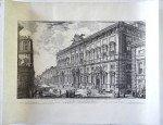 Veduta del Palazzo Fabbricato sur Quirinale per le Segreterie de Brevi e dell Sacra Consulta