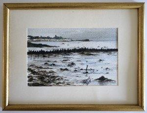 aquarelle sur Canson format image 11x17 - Novembre 1987