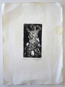 gravure sur Arches 2002 - format 16x9 sur 38 x28.5 - 20 exemplaires