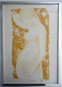 lithographie E.A la Primavera F85 format 56 x 39