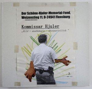collage sur pochette vinyl - Journal bild à l'intérieur -  format 21x29.7 sur 31.5x31.5