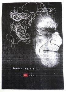 tirage photocopie recto N° 10 sur 11 format 28x20