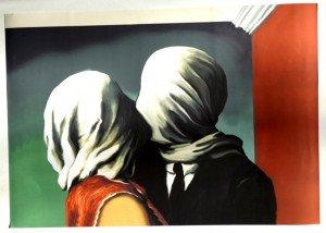 tirage sur papier velouté pleine page - The lovers - 1928 - format 35x50