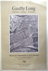 affiche 1985  format 60x40
