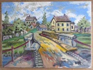 acrylique sur toile de lin  format 54x73_DSC0168