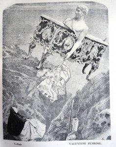 Collage - Valentine Penrose (1898-1978) Surréalisme français