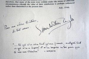 dédicace Simon Watson Taylor