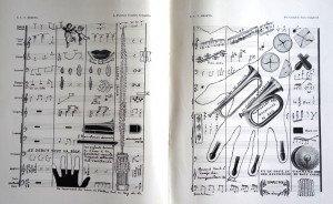 La partition complète complétée - Edouard Léon Théodore Mesens (1903-1971) Surréalisme belge