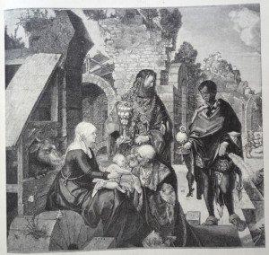 L'ADORATION DES ROIS MAGES d'après Albrecht Dürer(1471 - 1528)