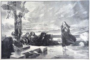 L'APERCEVANCE d'après Félix-Hippolyte Lucas (1854 - 1925)