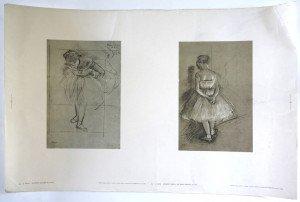 planche d'impression format 33x50 - Degas