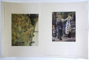 planche d'impression format 33x50 - Renoir