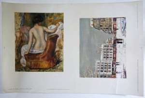 planche d'impression format 33x50 -  Renoir - Utrillo