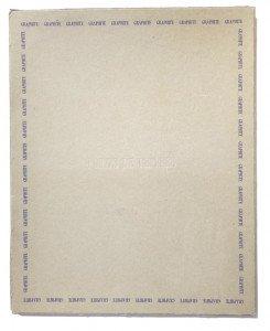 coffret sérigraphié sur carton gris brut  format 52x42