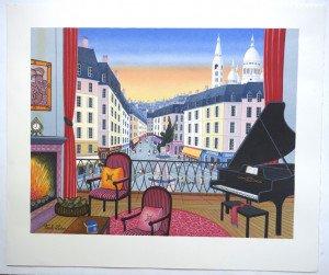 Montmartre - sur Arches format 47x56