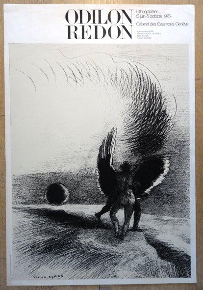 Sérigraphie Affiche Odilon Redon - format 94x64