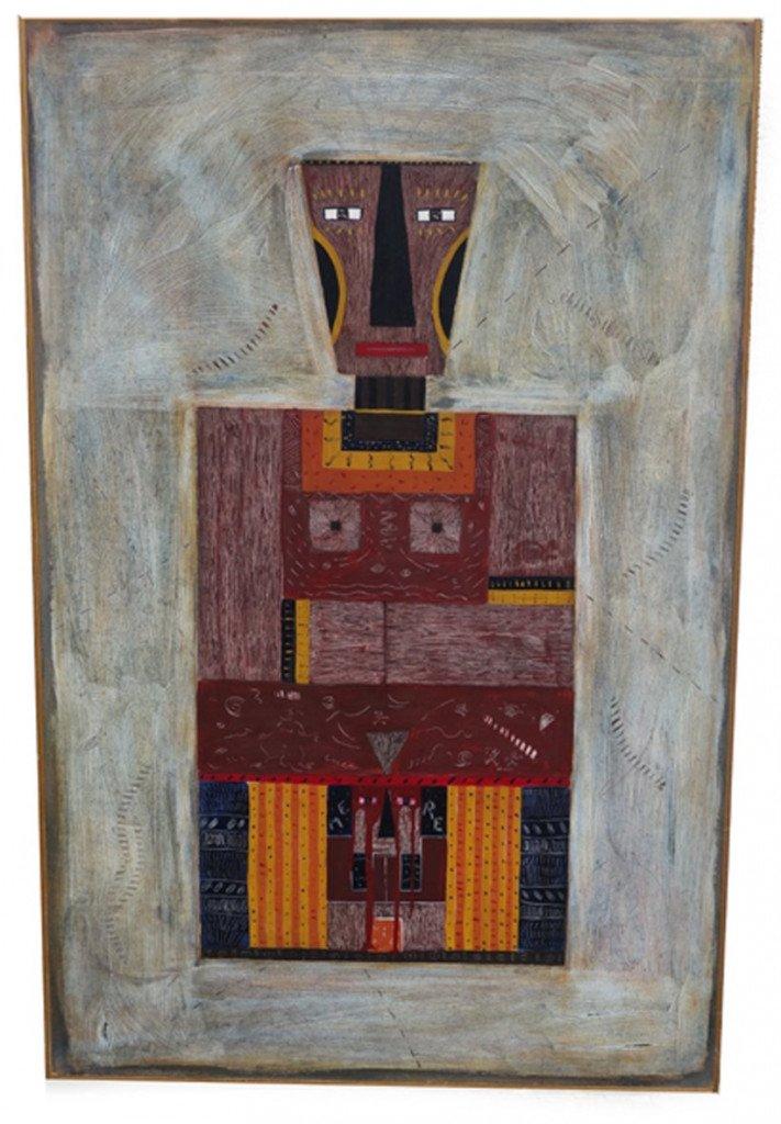 sur bois - Maternité 92 - format 123x80