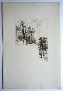 L.O.M filigranne La Jaquerie format 26.5x18