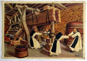 N° 7 Moines trappistes au château du Clos-Vougeot