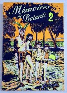 sérigraphie 1000 ex - Mémoires de batards 2 - Format 22x15.5