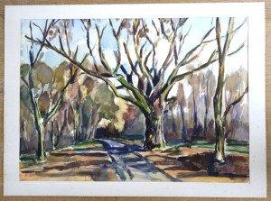 aquarelle sur Canson - sans titre - format 50x65