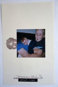 mixte tirage N° 6 sur 7 avec photo - Format 25.5 x 16.5