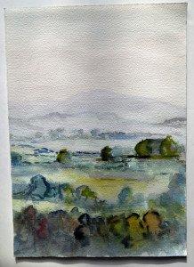 aquarelle 2 sur papier canson format 36x25