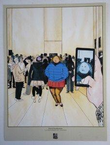 David Prudhomme - La traversée du Louvre