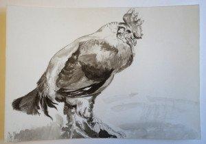 7 aquarelle sur papier dessin grain fin format 21x30
