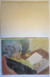 10 carnet dessin format  32x24
