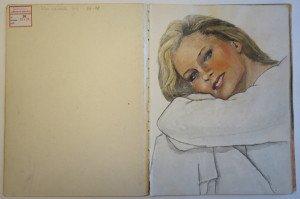 11 carnet   dessin format   32  x24