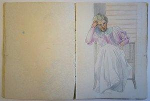 11 carnet   dessin - format 32x24