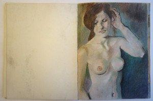 13 carnet  dessin format    32 x24