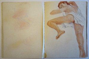 13 carnet  dessin format 32x24