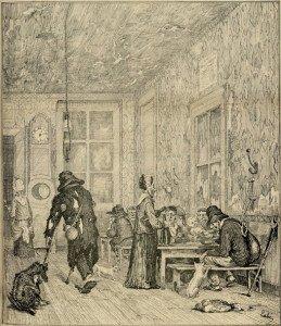 A l'hôtel des deux chèvres - Le Bonnet de nuit, 2 septembre 1876