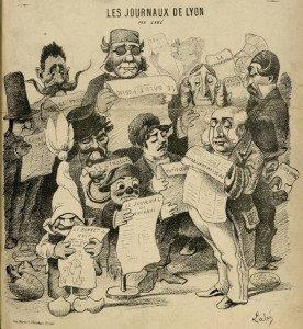 Les journaux de Lyon - Le Bonnet de nuit, 24 juin 1876