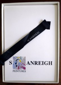 1989 coffret Scanreigh -  Peintures - format 31x22