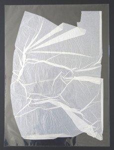 2 Pliage papier soie  sous polypropylène - format général 70x50