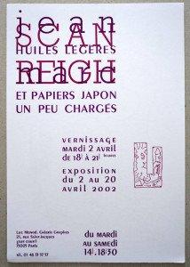 2002 Galerie Graphes - recto  (cadeau de l'artiste)